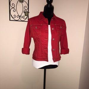 CAbi red jacket
